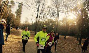 Lauftrio für 25 km: Nicole, Tom und Sonja. Foto: Sven Chojnacki