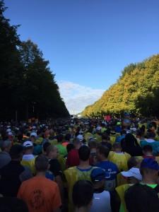Bei allem Gejammer: Der Berlin-Marathon ist einfach immer wieder toll - und das Wetter meistens auch.