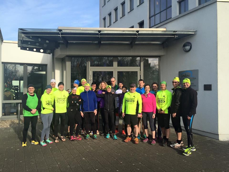 Auf nach Lindow: Gut 20 Mauerwegläufer waren beim Trainingslager der LGM dabei.