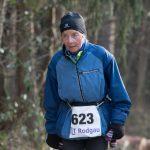 Lauflegende Sigrid Eichner durfte mit einer Stunde Vorsprung starten und beendete die 50km in 7:39:19h. Foto: Norbert Wilhelmi / laufen.de